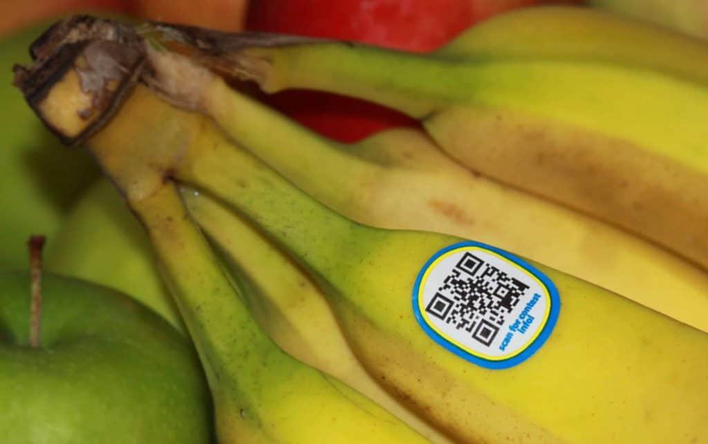 banánon qr kicsi